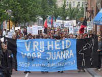 Demonstratie 8 juni Amsterdam